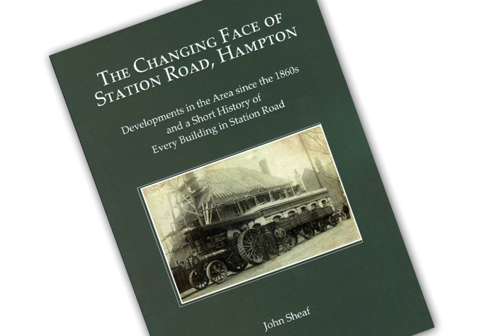 The Changing Face of Station Road, Hampton book cover
