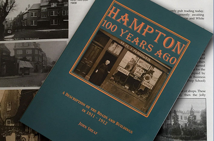 Hampton 100 Years Ago book cover