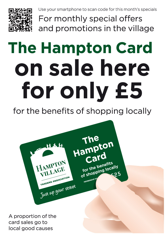 Hampton card On Sale Here template