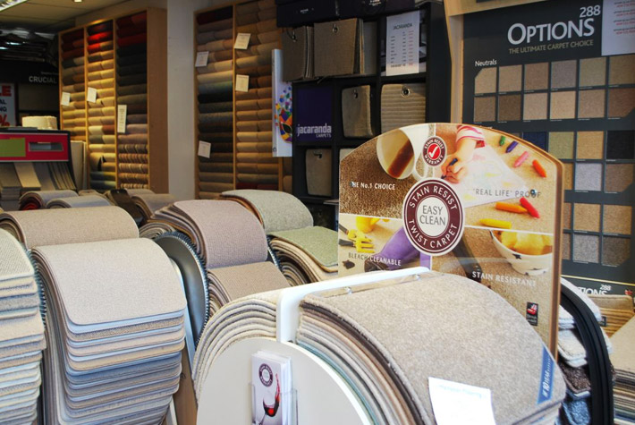 An enormous selection at Hampton Flooring – right on your doorstep in Milton Road