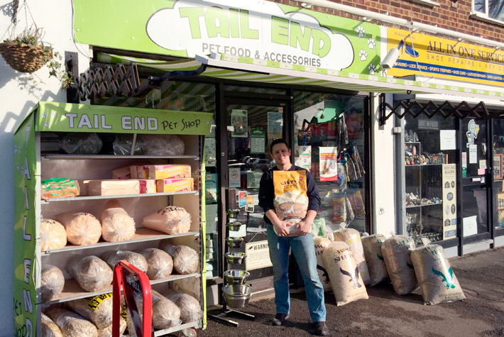 Say hello to Tomasz and Artur at Tail End on Station Road for all your pet supplies