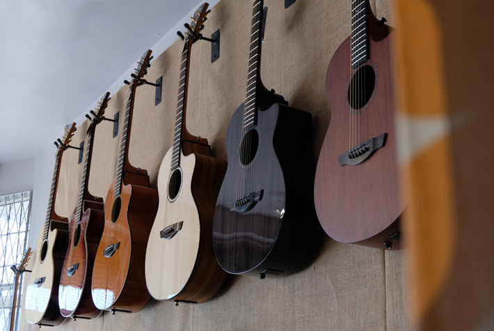 Tree of Life Guitars sell sustainable and ethically built products: creativity with a peace of mind and a clear conscience