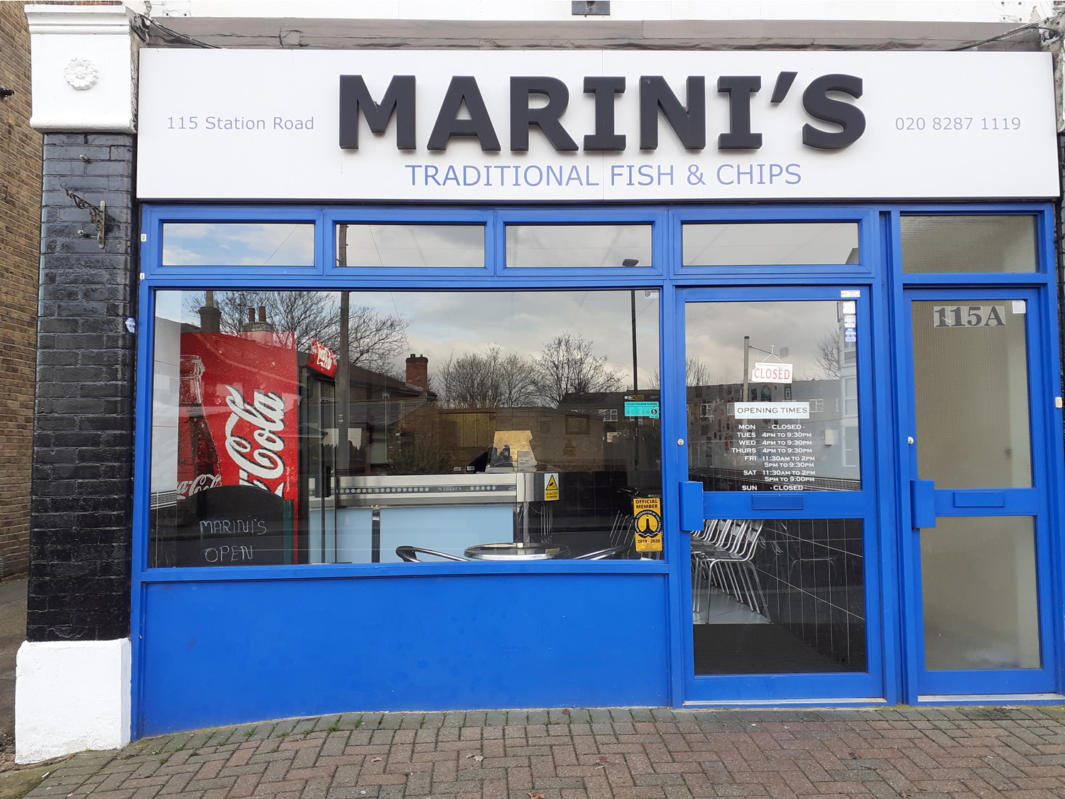 Marini's Quality Fish & Chips