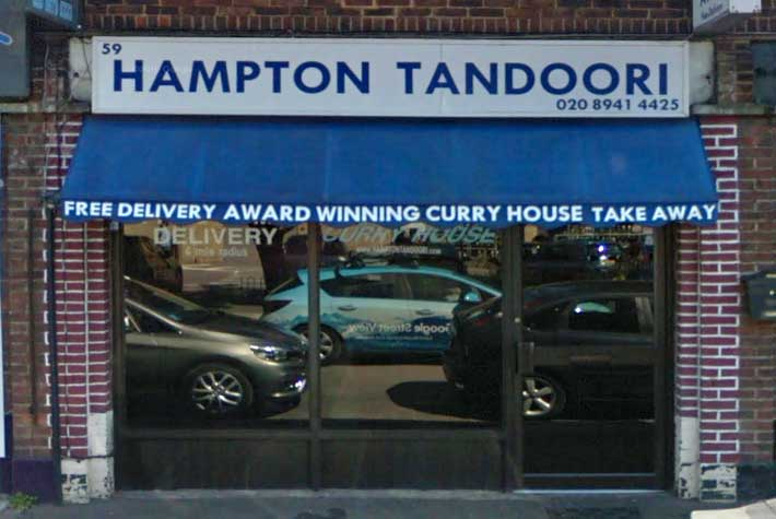 Hampton Tandoori Takeaway, Hampton