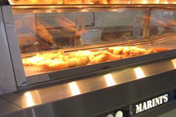 Marini's Quality Fish & Chips, Hampton