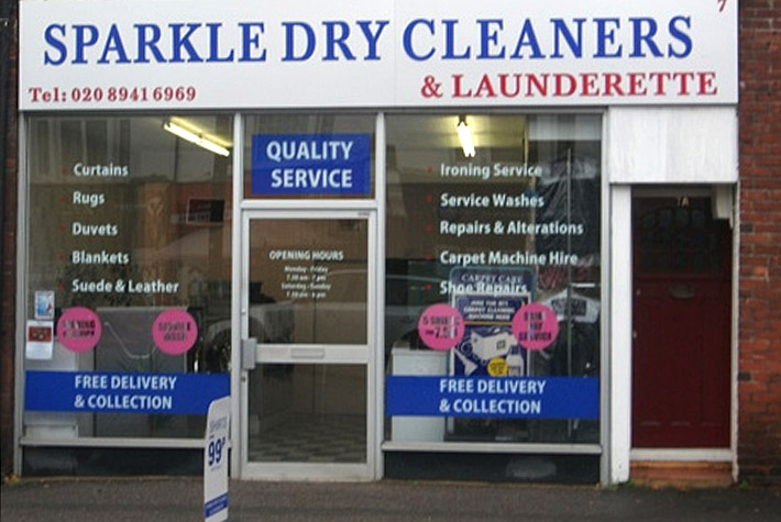 Sparkle Laundrette & Dry Cleaning, Hampton